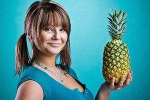 Tabe sig er velsmagende og sund: Vælg en ananas kost