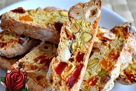 Biscotti küpsised: Itaalia traditsiooniliste küpsetatud toodete retsept