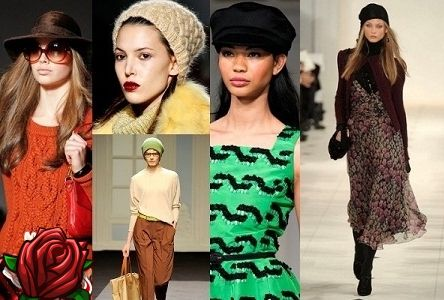 Chapéus de moda outono-inverno 2017 - 2018