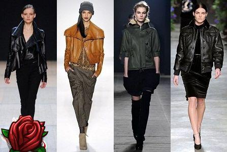 Casacos De Couro De Moda Fall - 2018