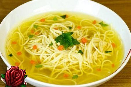 Суп лапша домашняя рецепт фото пошагово