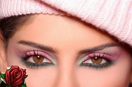 sminka små ögon