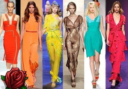 Modes drēbju krāsa 2018. gada vasarā