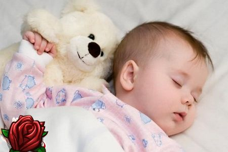 Barnet våkner ofte om natten