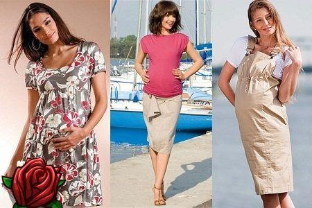 Roupa de verão para mulheres grávidas: acompanhar as tendências da moda