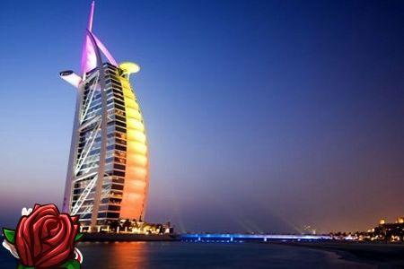 Dubai hotell: luksus klaasist ja kivist