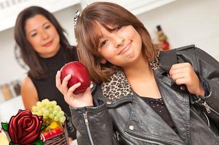 Noorte korralik toitumine on tervise aluseks