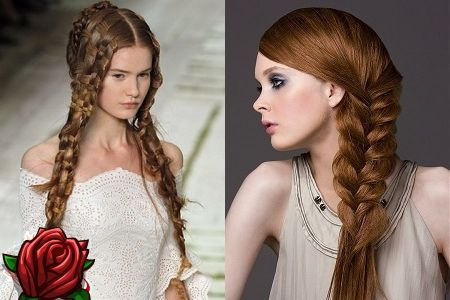 Fryzury Z Plecionego Długimi Włosami Zawsze Modne Ważne