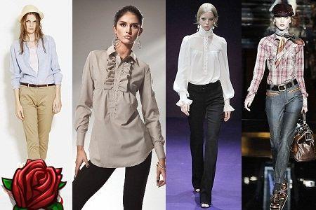 Camisa feminina: tipos e combinações