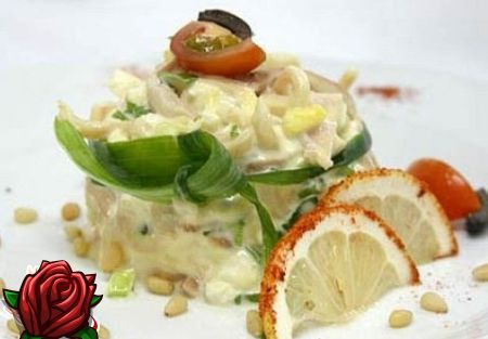 Salatka Z Kalmarow I Grzybow Fantazja Na Morze Tematu