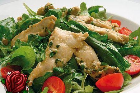 Salata od piletine i rajcice
