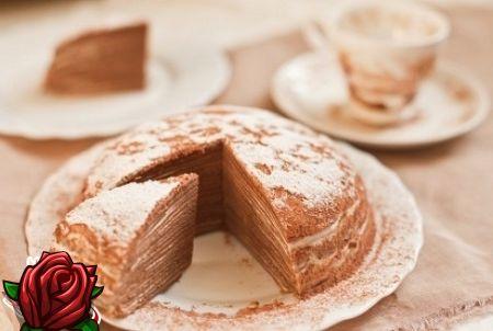 Šokolaadi pannkook kook: praktiline, kiire, maitsev