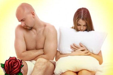 Kas tema abikaasal on nõrk erektsioon - vabandus paanika või...?