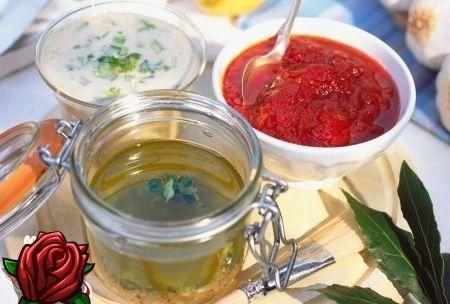 Kastmed salatite jaoks: suurepärase maitse peamised koostisosad