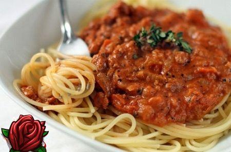 Lihtne spageti retsept hakklihaga