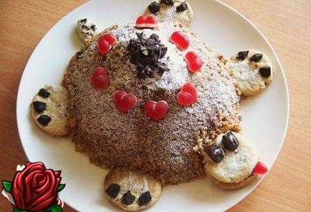 Bolo Tartaruga: sobremesa infantil favorita