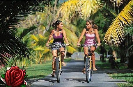 Fitness med cykel