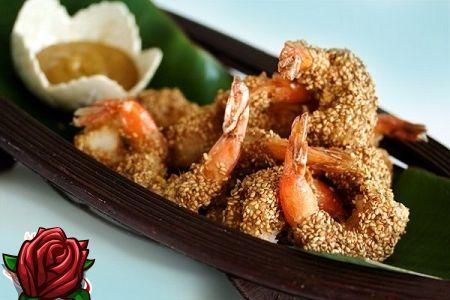 Praetud krevetid sojakastis: toiduvalmistamise retseptid
